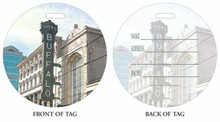 Shea's, Shea's Performing Arts Center, Buffalo Theater, Luggage tag, ID Tag, Buffalo Luggage Tag, Buffalo ID tag, Buffalo, Buffalo NY