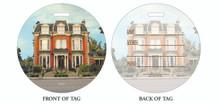Delaware Mansion, The Mansion, Mansion on Delaware, Luggage tag, ID Tag, Buffalo Luggage Tag, Buffalo ID tag, Buffalo, Buffalo NY