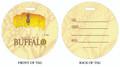 Beer, Buffalo Beers, Beer in Buffalo, Luggage tag, ID Tag, Buffalo Luggage Tag, Buffalo ID tag, Buffalo, Buffalo NY