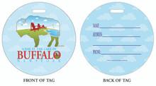 Lake Erie, Buffalo Lakes, Lake Erie near Buffalo, Luggage tag, ID Tag, Buffalo Luggage Tag, Buffalo ID tag, Buffalo, Buffalo NY