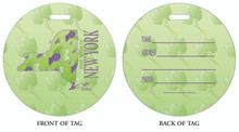 Wine in NY, New York Vacation, New York, Wine in New York, Luggage tag, ID Tag, New York Luggage Tag, New York ID tag, NY