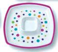 Ashdene - Kaleidoscope - Polka Dot Chip and Dip Platter