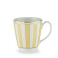 Beautiful fine white china coffee mugs in six different pastel shades. The wonderful 'French style' design is highlighted by 24 K gold trim and lining to create a sophisticated looking product. The Carnivale series is the perfect combination of elegance and functionality with great shape and great capacity. All items are presented in an attractive gift box with Noritake logo. Much more than just your average mug the Carnivale mug collection makes a wonderful, inexpensive gift idea - do not settle for anything less!