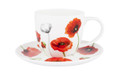 Ashdene Teacup & Saucer Poppies Memorial Collection.
