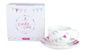 Candy Lane Gift Set x 9  2 x Cup & Saucer