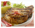 "1"" BONE-IN CENTER CUT PORK CHOPS - 9 - 10 OZ"