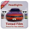 Audi A4 CABRIO S LINE 2009-2012 Headlight Tint