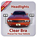 Mercedes S400 HYBRID 2010-2011 Clear Headlight Covers