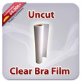 Uncut Clear Bra Film - Choose between 2 grades of film