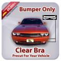 Mazda 3 4 DOOR I SV 2010-2011 Bumper Only Clear Bra