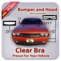 BMW 3 SERIES SEDAN 2012-2013 Bumper and Hood Clear Bra