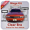 Audi A4 CABRIO S LINE 2009-2012 Mega Clear Bra Kit