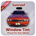 Precut Sunroof Tint Kit for Acura Integra 2 Door 1990-1993