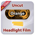 Uncut Headlight Tint - Orange