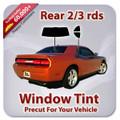 Precut Rear 2-3rds Tint Kit for Acura Legend 4 Door 1991-1995