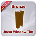 Uncut Colored Window Tint Film - Bronze
