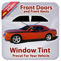 Precut Front Door Tint Kit for Acura EL Canada Only 1997-2000