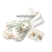 "CROWN ROPE LIGHT 2 WIRE 1/2"" 6FT OUTDOOR STEADY BURN POWER CORD (5/BAG) - Pack/5"