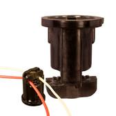 Brown Intermediate Bakelite Pin Socket