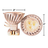 MR 16 3WATT LED WHITE BULB