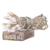 WARM WHITE LED BATTERY POWERED MINI LIGHT SET - 102LEDBL/WW