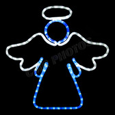 "20"" x 20"" TWO COLOR LED STANDING WINDOW ANGEL - 100MOLANGEL1"