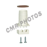FUNLIGHT SOCKET, WIRE CAP AND SCREWS (PACK OF 50 PIECES)