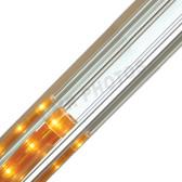 Silver Crown Premium Refective Rope Light Track - 206REFS