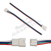 6 Inch RGB Connector Wire for RGB LED Bars - 227BARRGB-CON