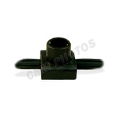 "100 FT ROLL - 7"" SOCKET SPACING - BLK WIRE/ BLK SKT/BLK BACK - Roll/100ft"
