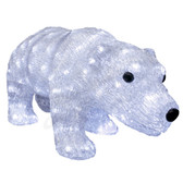 3-D Acrylic LED Walking Bear - 100AMO1046 - Front View