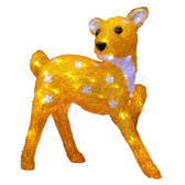 3-D Acrylic LED Deer - 100AMO1116 - Side View