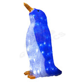 3-D Acrylic LED Penguin Son - 100AMO1064 - Left Side View