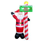 13ft Standing Santa Yard Inflatable Statue