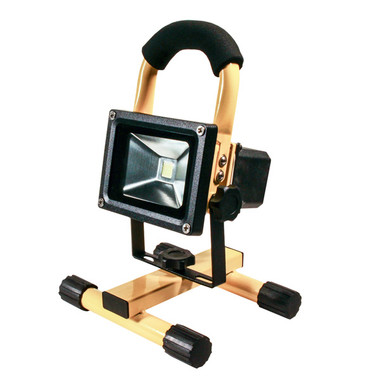 10 Watt Rechargeable LED Flood Lamp with Stand