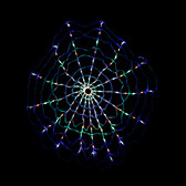 Multi Color LED Chasing Motion Web Light