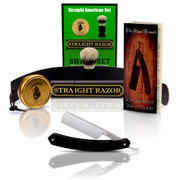 Straight American 7/8 Round Tip with Full Shave Set