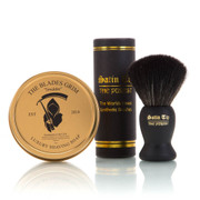 Smolder Soap and Black Satin Tip The Purest Brush Combo