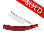 """Alex Jacques """"Production Style"""" 7/8"""" Razor With Red G10 Scales"""
