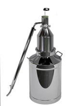 Essential Oil Distiller, distillation and
