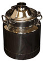 New Heavy duty Milk cans with clamp-down lids