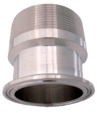 "2"" Male NPT to 2"" Stainless Ferrule"