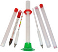 Complete alcoholmeter test kit. Professional grade