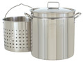 122 Quart Stainless Steel Stock Pot #1122 *** The stock pot is shipped separately ***