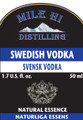 50ml Swedish Vodka  Essence