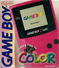 Game Boy Color Berry Pink - GAMEBOY COLOR (Used, Great Condition In Box, No Manuals)