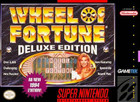 Wheel of Fortune: Deluxe Edition - SNES (With Box, and Book)