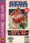 NFL '95 - GAME GEAR (Cartridge Only)
