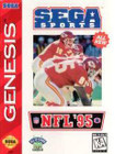 NFL 95 - Sega Genesis (Cartridge Only)
