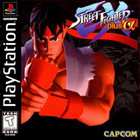 Street Fighter EX Plus Alpha - PS1 (Used, With Book)